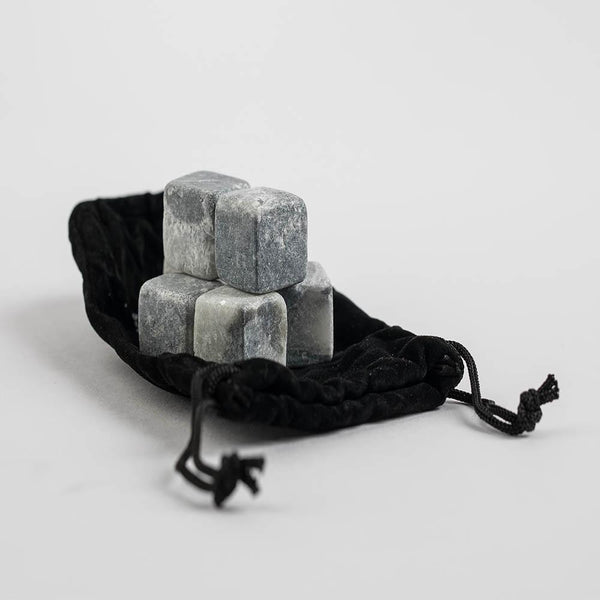 Whiskey Stones with cloth bag