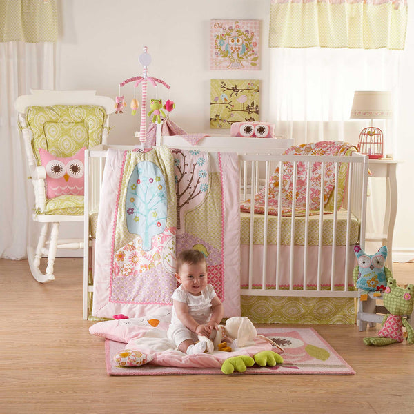 5pc Crib Set - Poppy Seed (main)