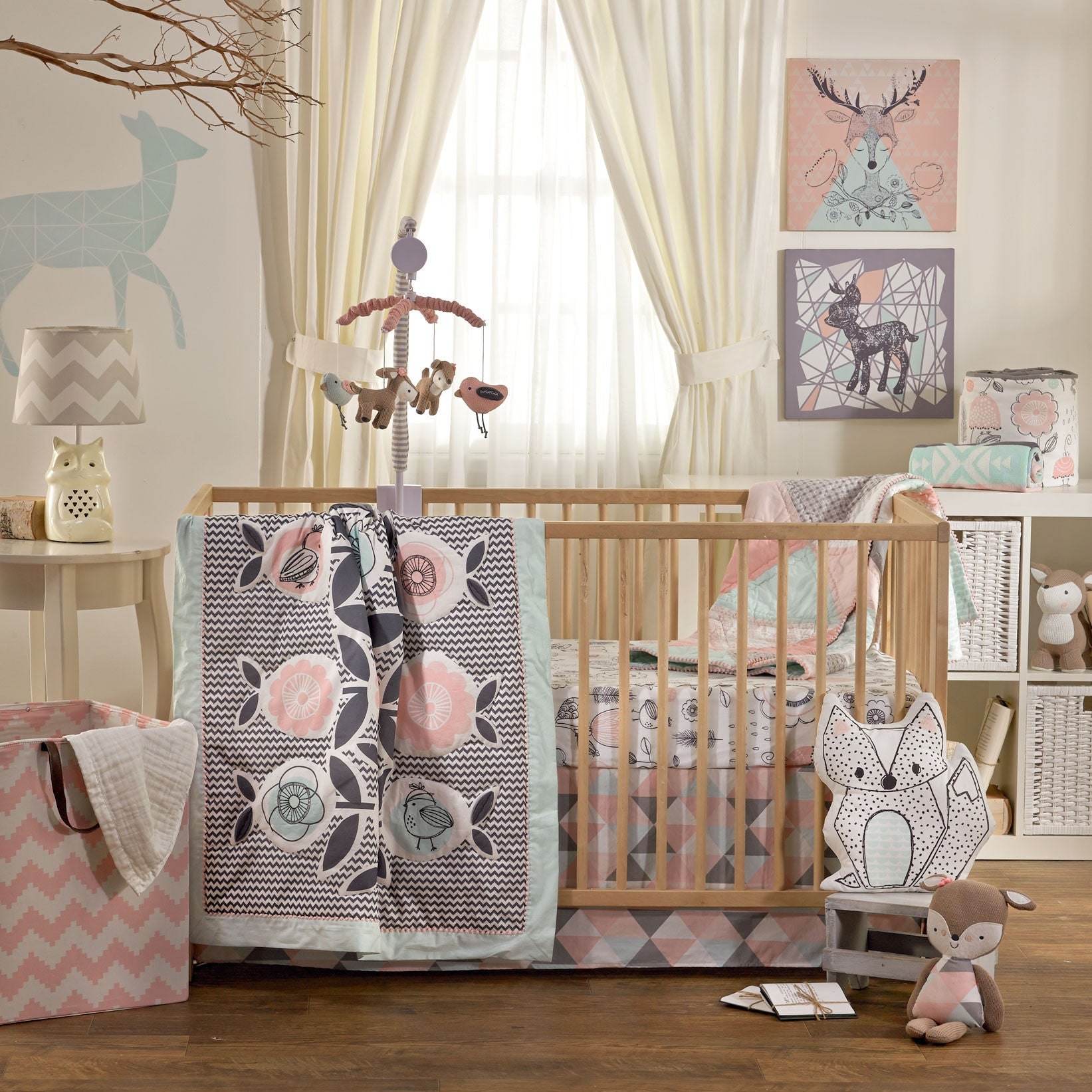 bed blue collection bedding cribs monkey set crib sets nursery pc pin