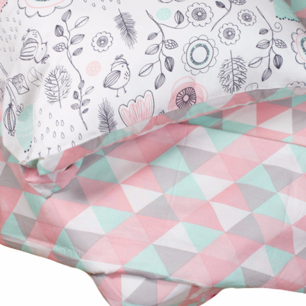 Sparrow 4-Piece Full Sheet Set - Tripod - Living Textiles Co.