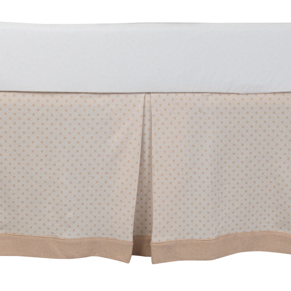 Organic Bed Skirt - Living Textiles Co.