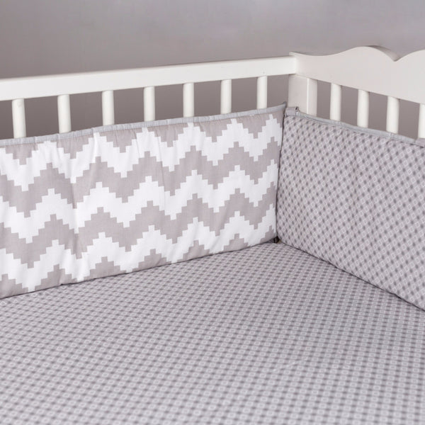 Bumper - Aztec Chevron - Living Textiles Co.