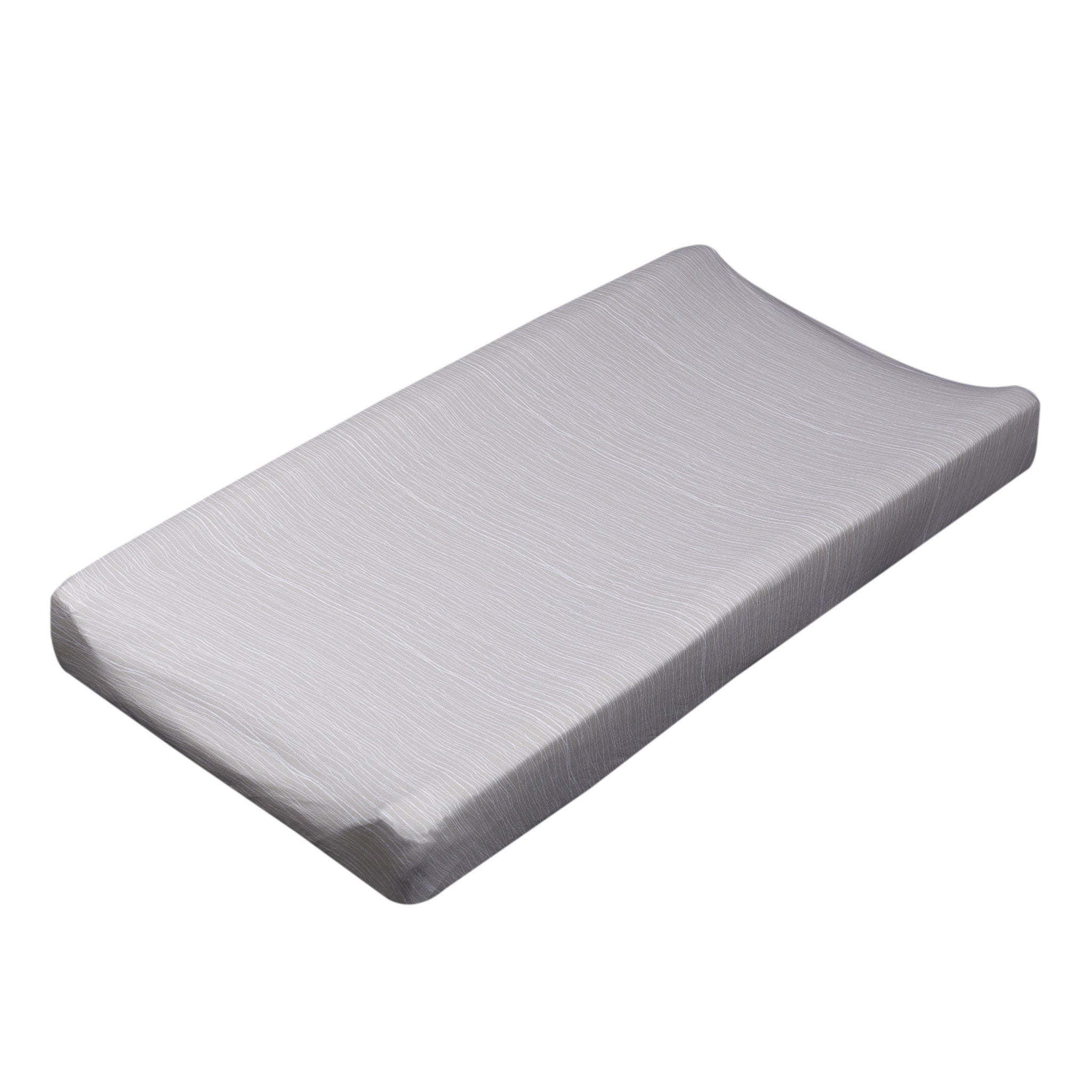 Change Pad Cover - Grey Crinkle - Living Textiles Co.