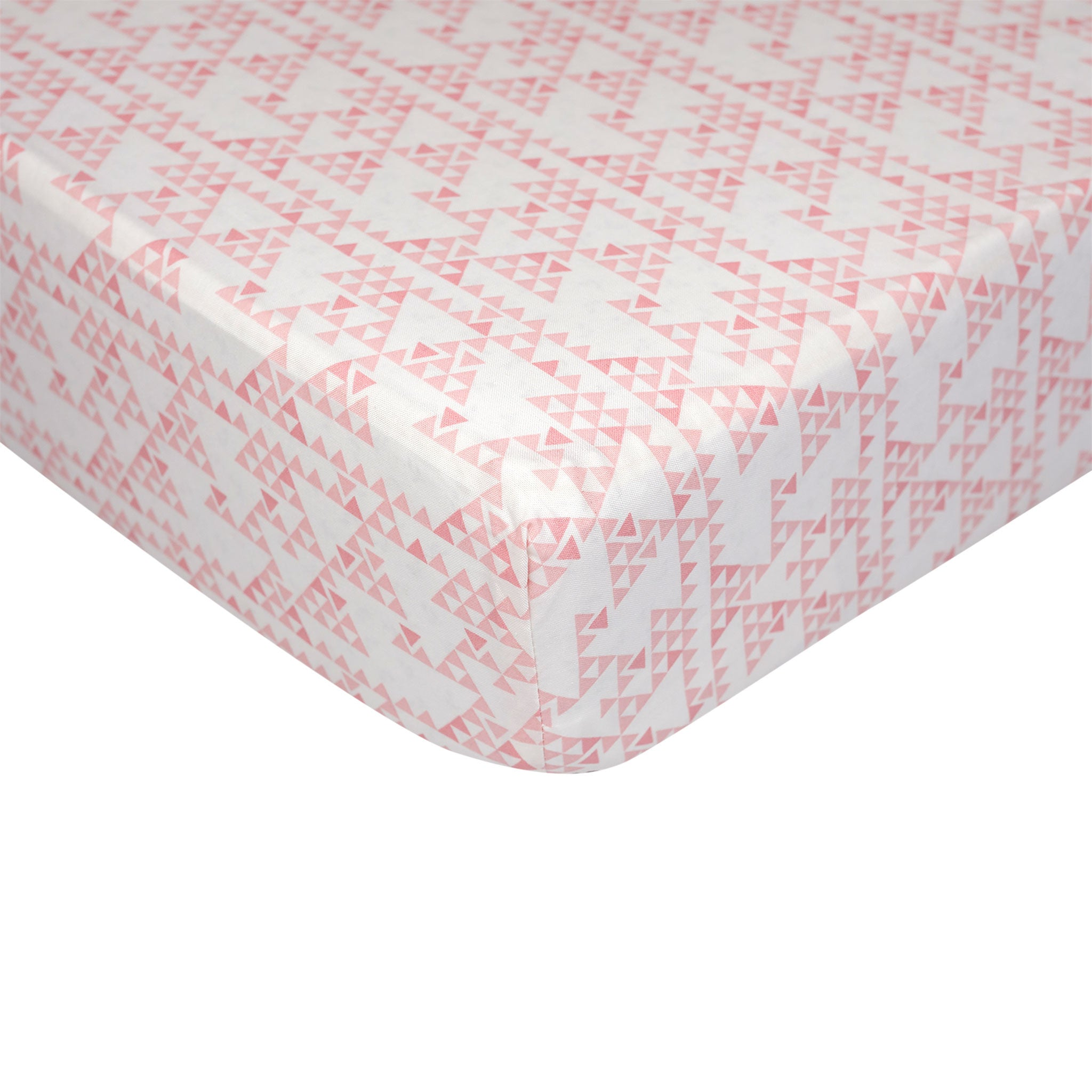 Fitted Sheet - Pink Mesa (main)