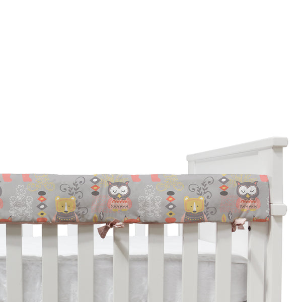 Pink Oasis - Crib Railing - Living Textiles Co.