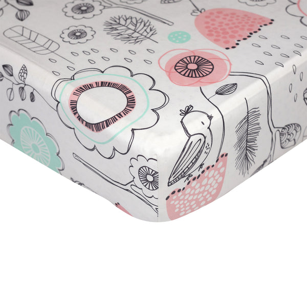 Fitted Sheet - Sparrow - Living Textiles Co.