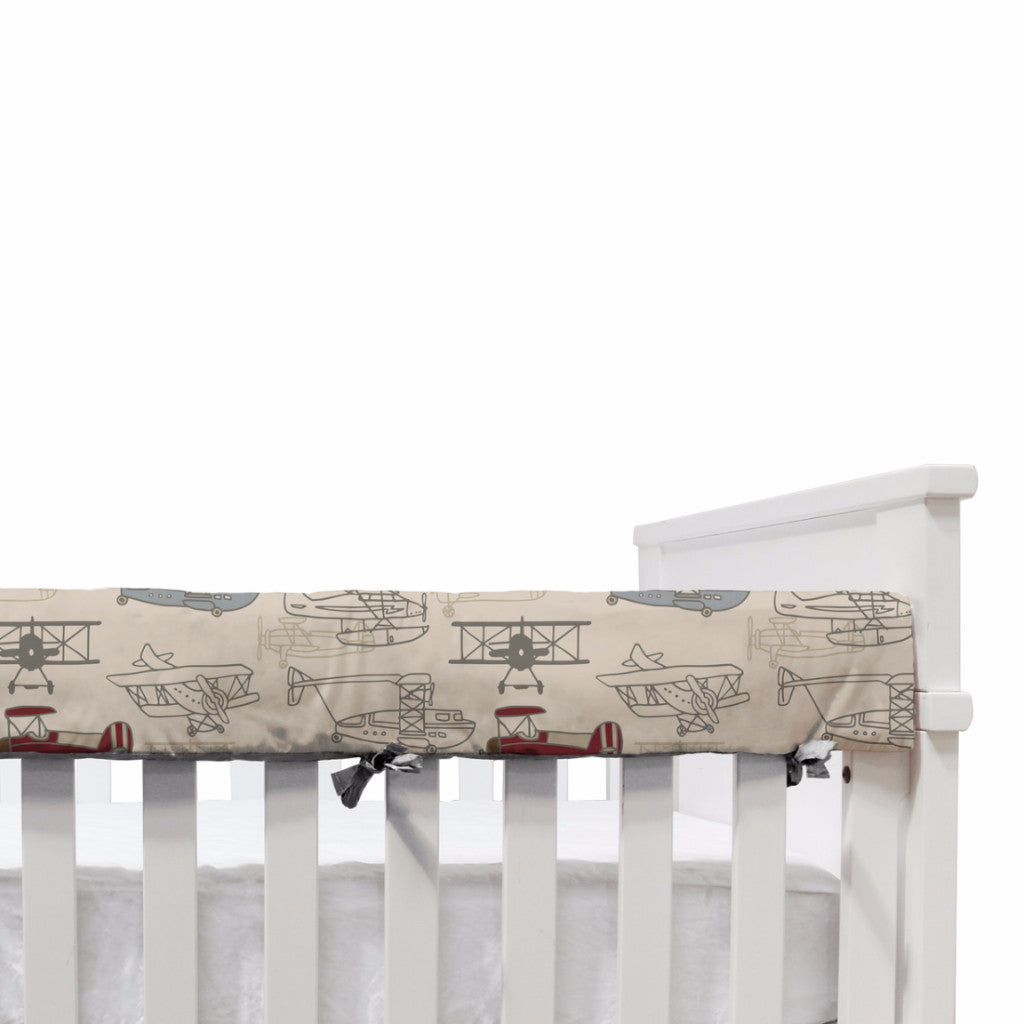 Hangar - Crib Railing - Living Textiles Co.