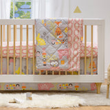 Enchanted Garden Crib Bed Skirt
