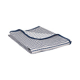 Jersey Receiving Blanket - Navy - Living Textiles Co.