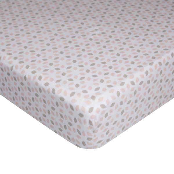 Jersey Fitted Sheet - Cherry Blossom - Living Textiles Co.