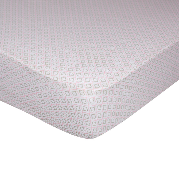 Jersey Fitted Sheet - Koko Rose - Living Textiles Co.