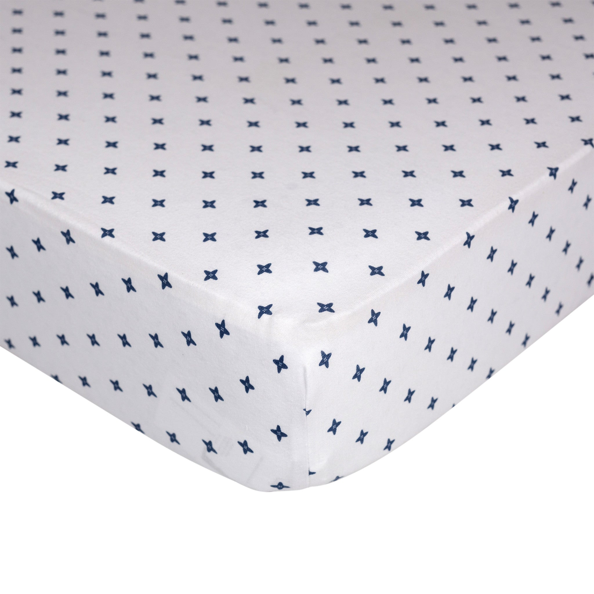 Jersey Fitted Sheet - Starry Night - Living Textiles Co.