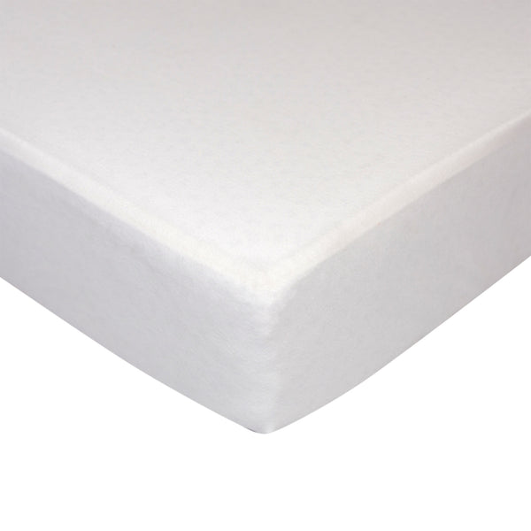 Jersey Fitted Sheet - White - Living Textiles Co.