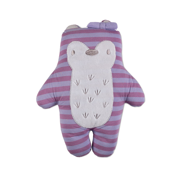 Mod Purple Fox Knit Toy | Lolli Living | Living Textiles Co.