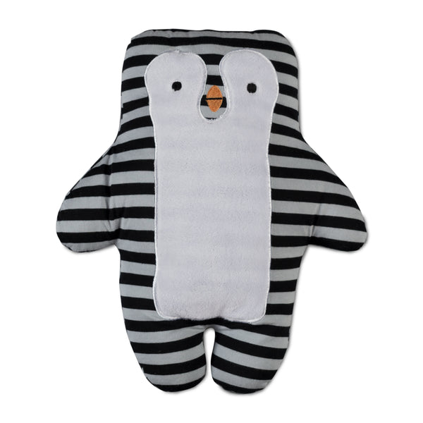 Mod Grey Penguin Knit Toy | Lolli Living | Living Textiles Co.