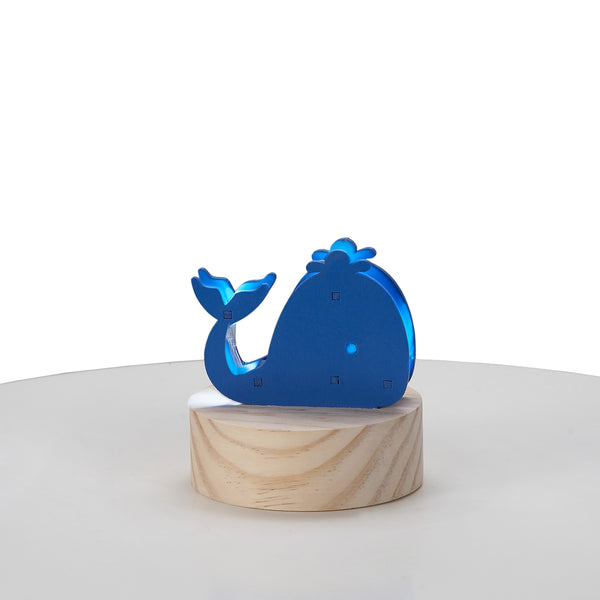 Wood Whale Night Light - Living Textiles Co.