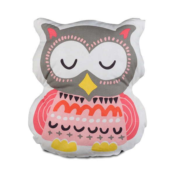 Enchanted Garden - Owl Pillow