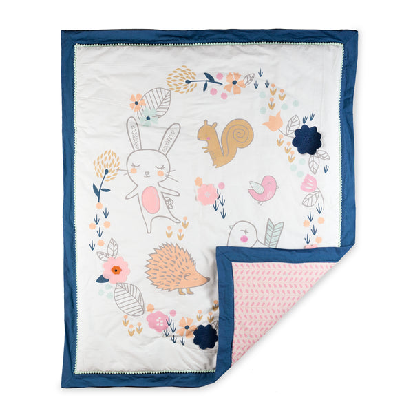 Baby Quilt - Stella - Living Textiles Co.