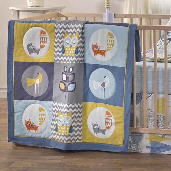 Baby Quilt - Woods - Living Textiles Co.