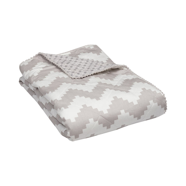 Quilted Comforter - Aztec Chevron - Living Textiles Co.