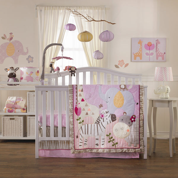 6-Piece Crib Set - Surina - Living Textiles Co.