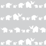 Change Pad Cover - Elephant Parade - Living Textiles Co.