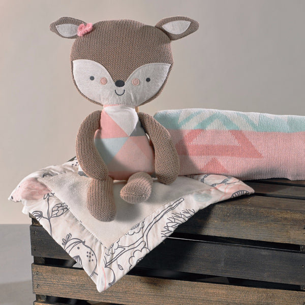 Toy & Blankie Set - Fiona Deer - Living Textiles Co.