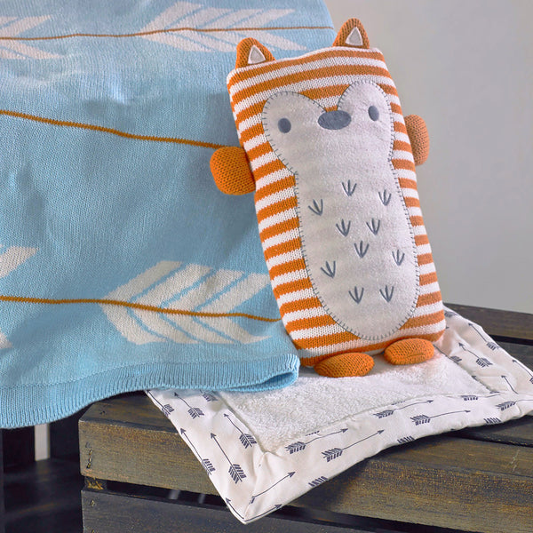 Toy & Blankie Set - Jacob Fox - Living Textiles Co.