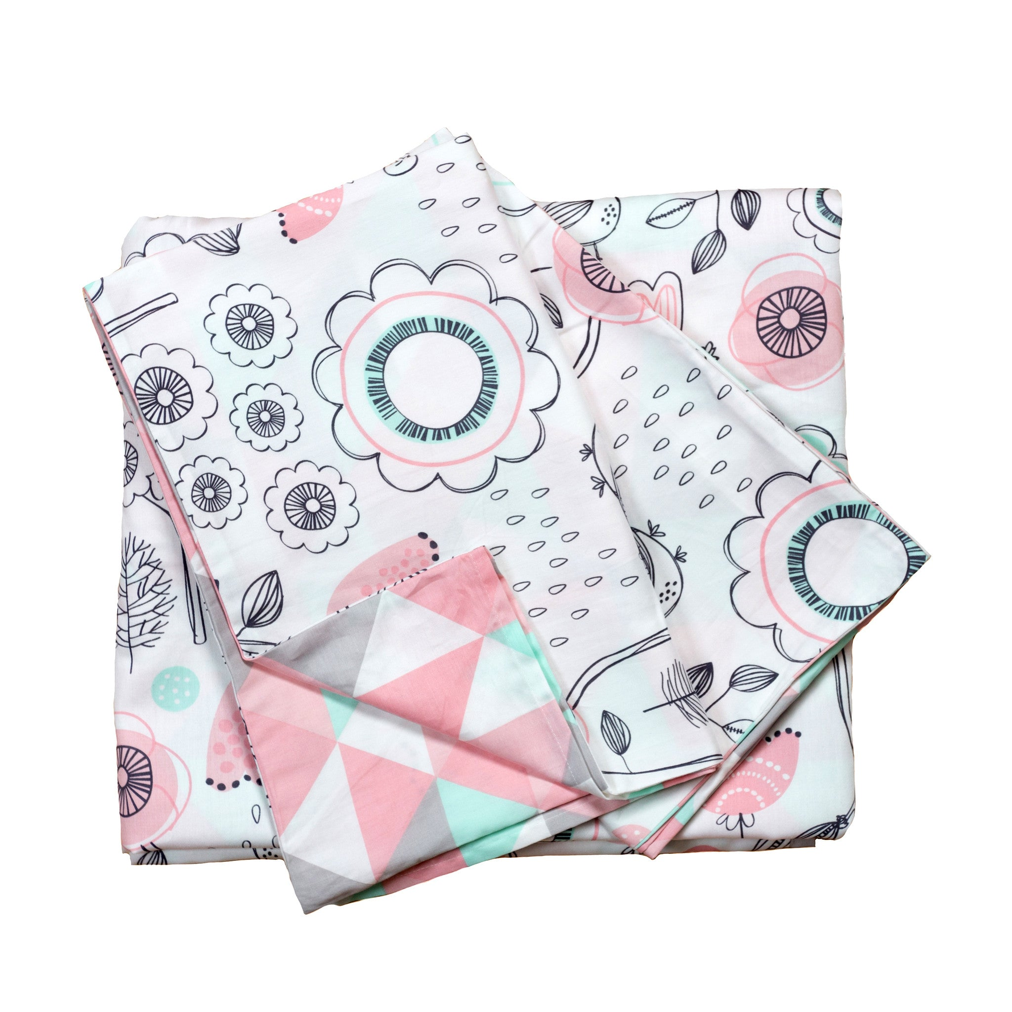 3-Piece Full/Queen Duvet Set - Sparrow - Living Textiles Co.