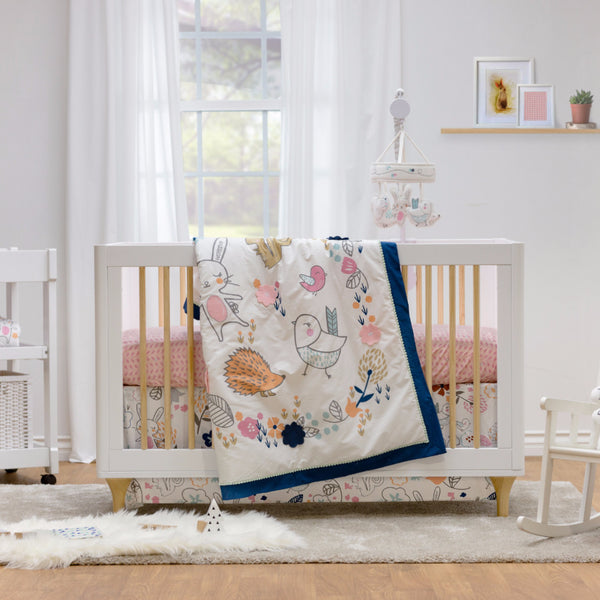4-Piece Crib Set - Stella