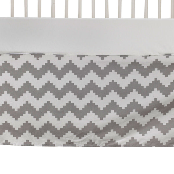Bed Skirt - Aztec Chevron - Living Textiles Co.