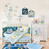 Nursery Organizer - Robot - Living Textiles Co.