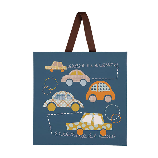 "Canvas Art - ""Bumper Cars"" - Living Textiles Co."