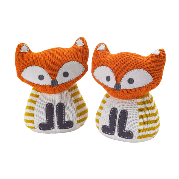 Bookends - Knitted Fox - Living Textiles Co.