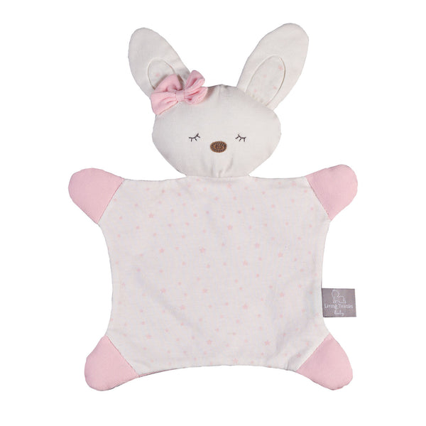 Bunny Blankie - Little Pink Staar - Living Textiles Co.