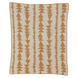 Organic Arrows Knitted Blanket - Living Textiles Co.