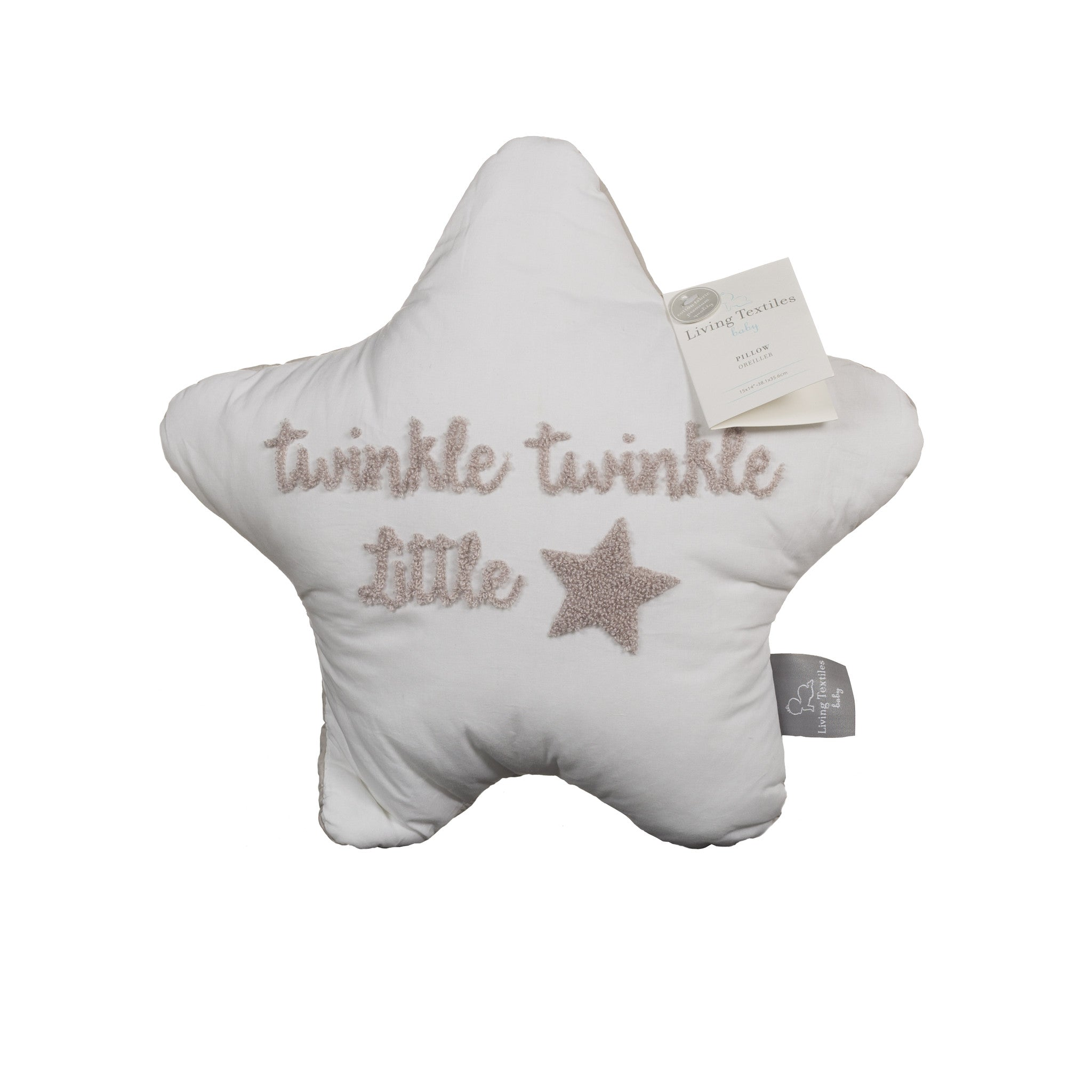 Star Shaped Pillow - Living Textiles Co.