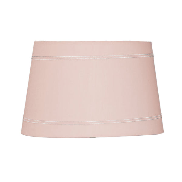 Lamp Shade - Pink Trim - Living Textiles Co.