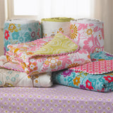 Bumper - Lovebirds/Tigerlily Orchid - Living Textiles Co.