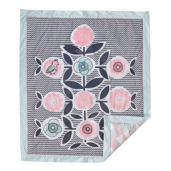 Sparrow - Baby Quilt - Living Textiles Co.