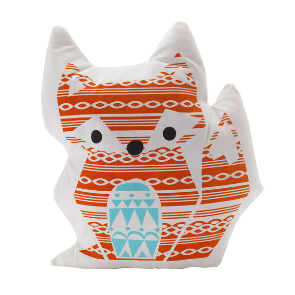 Pillow - Woods Fox - Living Textiles Co.