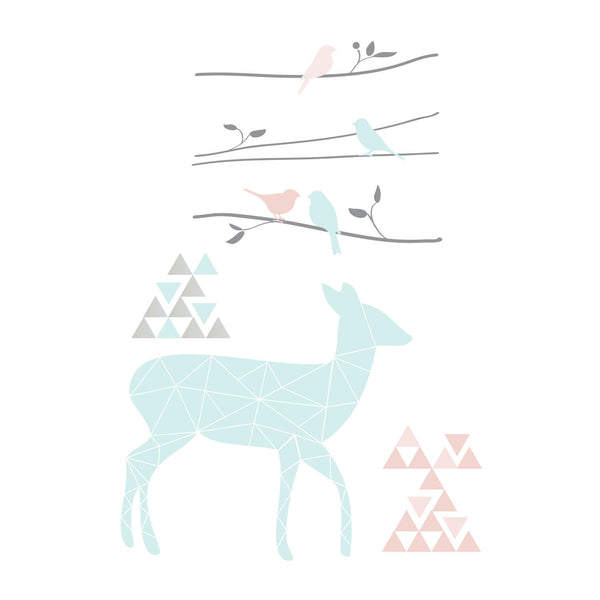 Wall Decals - Sparrow - Living Textiles Co.