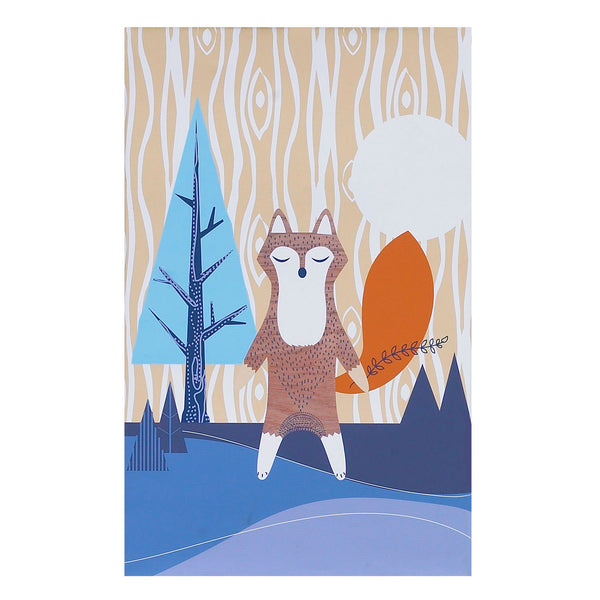 Canvas Art - Woods Fox - Living Textiles Co.