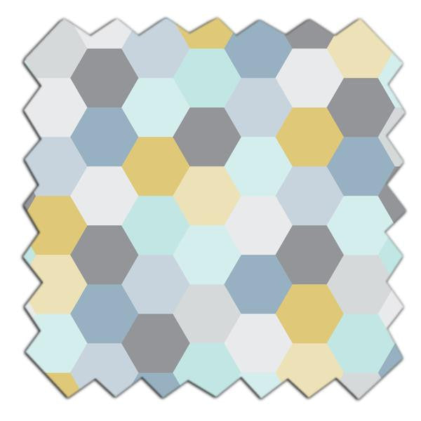 Fabric - Hexagon - Living Textiles Co.