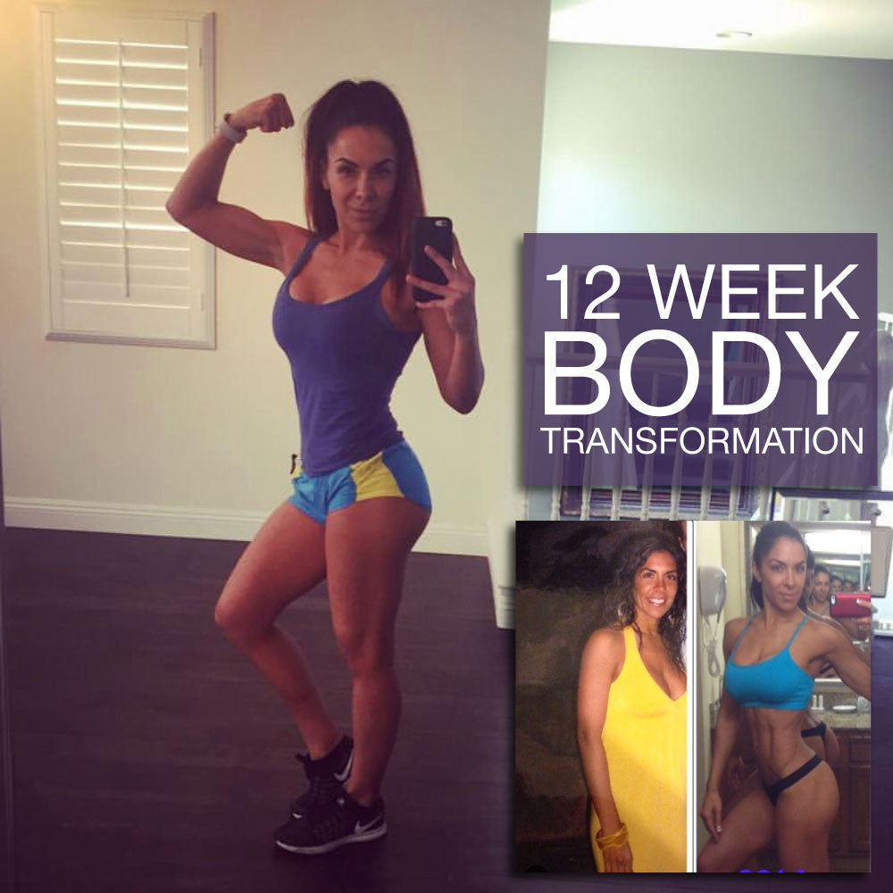 Dude, where's my gut? (12 Week Total Body Transformation) - Stacey Alexander