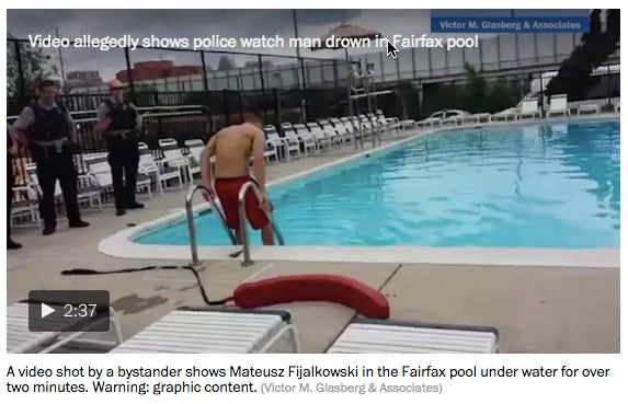 Man who tried to drown himself in pool is suing the people who pulled him out.