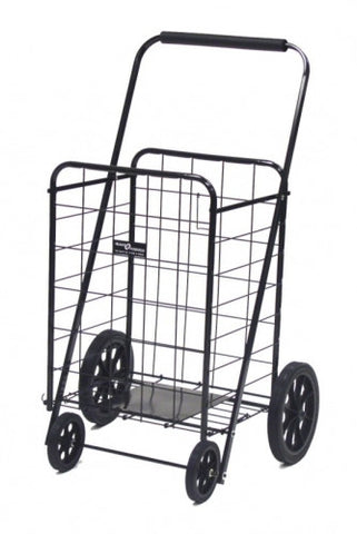 Black Narita™ Super Folding Shopping Cart - Carts On The Go