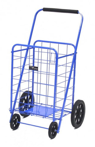 Blue Narita™ Super Folding Shopping Cart - Carts On The Go
