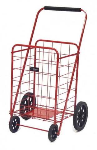 Red Narita™ Super Folding Shopping Cart - Carts On The Go