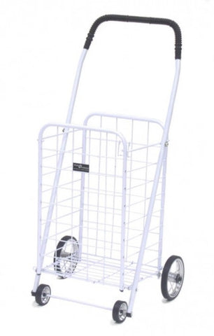 White Narita™ Mini Shopping Cart - Carts On The Go